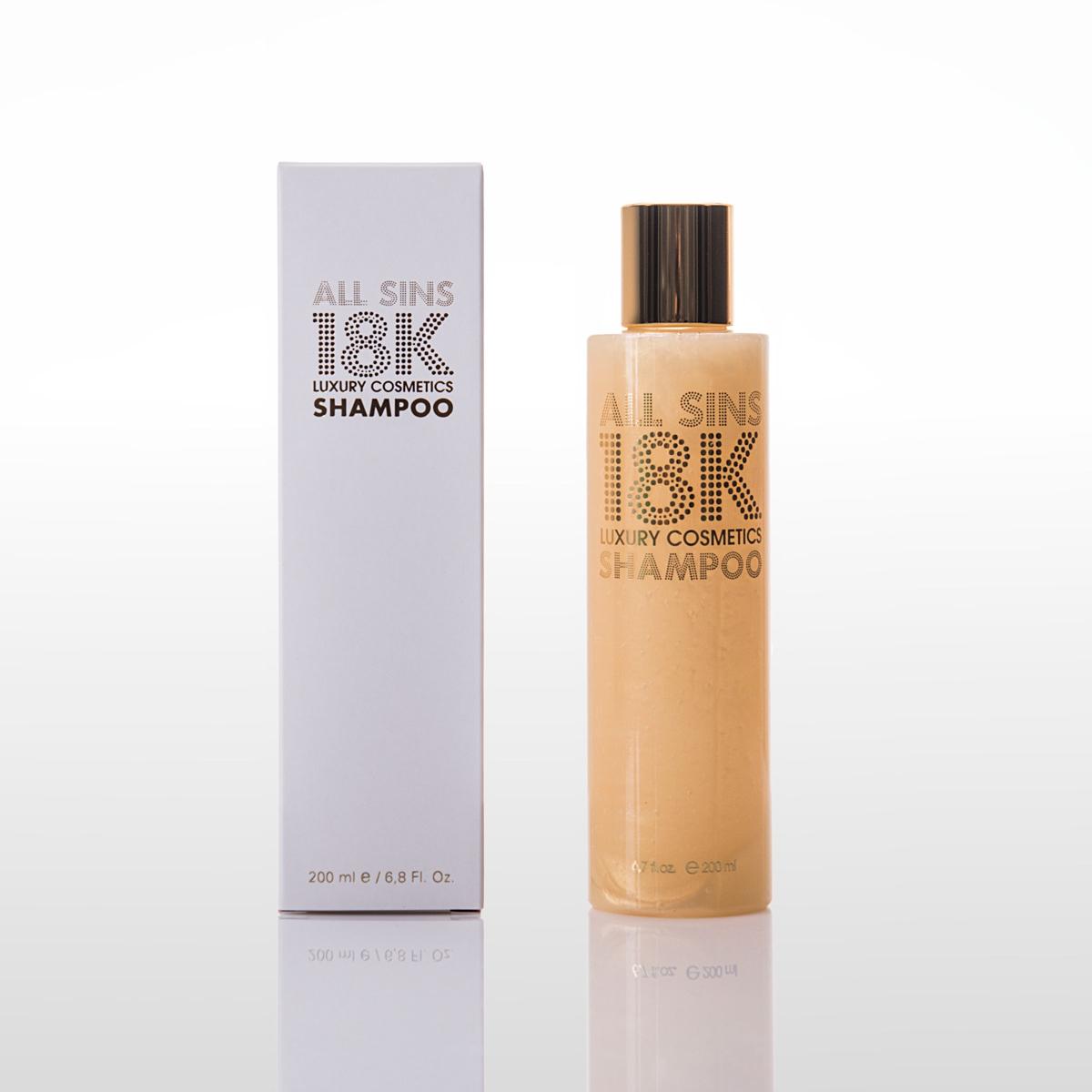 all sins 18k gold shampoo